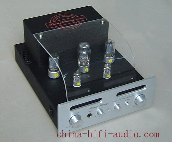XiangSheng H-80B III tube &field effect Integrated AMP silver